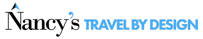 Nancy's Travel By Design Logo